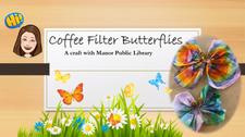 Coffee Filter Butterflies