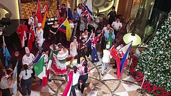 Presentation of Flags