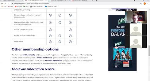 BD Mini Masterclass - Membership