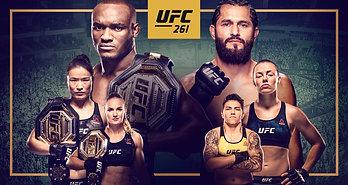 UFC 261: УСМАН VS МАСВИДАЛЬ 2