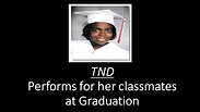 TND leads her fellow graduates