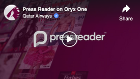 Press Reader on Oryx One
