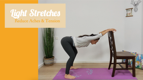 5 🤍 Light Stretches: Reduce Aches & Tension