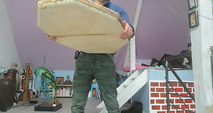 Tambour océan octogonal grand modèle