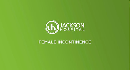 Female Incontinence