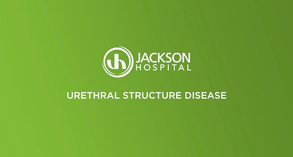 Urethral Structure Disease