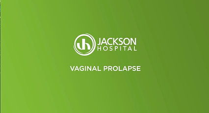Vaginal Prolapse