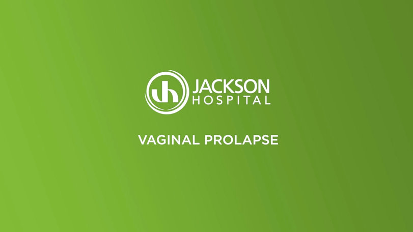 Urogynecology at The Jackson Clinic