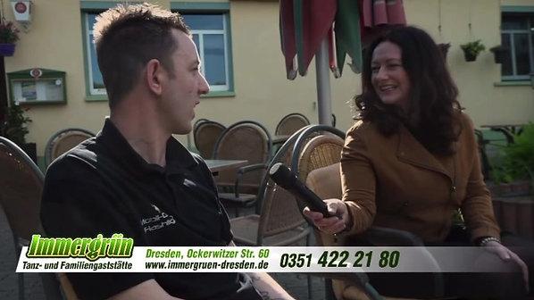Interview in der Tanz & Familiengaststätte Immergrün