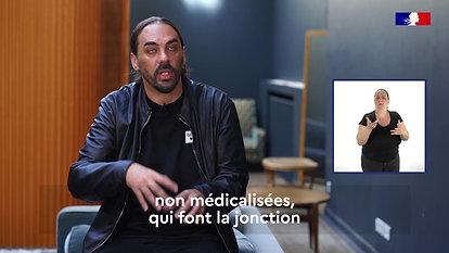 Assises 2021 de la santé mentale et de la psychiatrie - Témoignage de Gringe