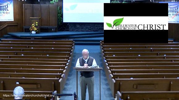 Sunday School Class - Mike Hannah - 04/25/2021