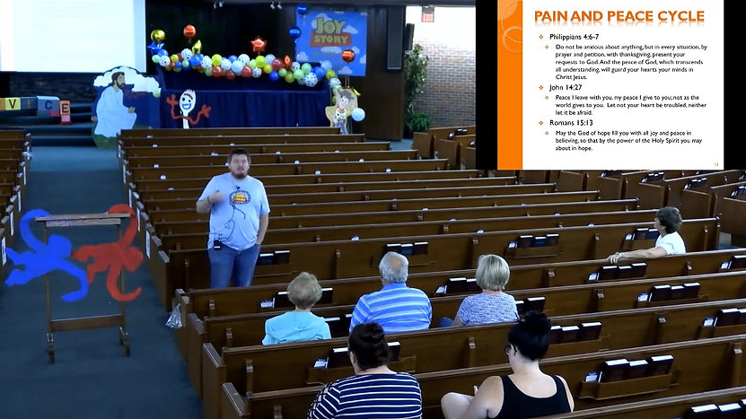 VBS Joy Story Day 2 - Parent Class Led by Ron Cox - 7/19/2021