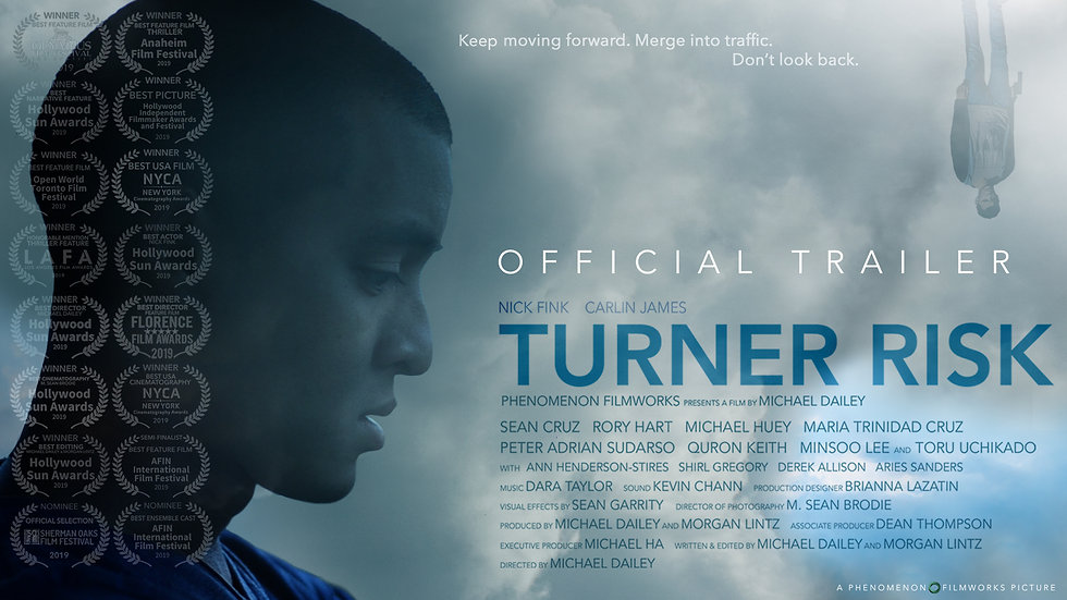 TURNER RISK Official Trailer 2 (2019)