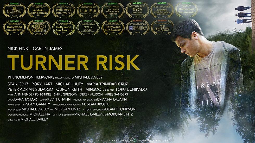 TURNER RISK Official Trailer (2019)