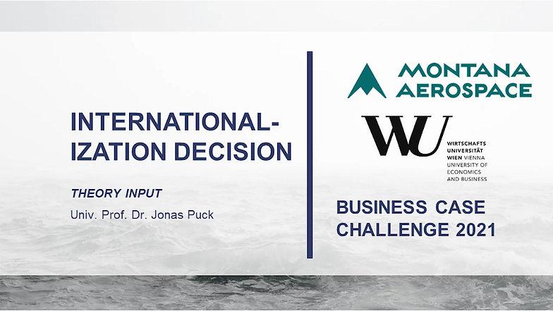 Internationalization Decision