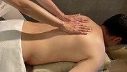 背中のエフロラージ【スウェディッシュマッサージテクニック】 / Back Swedish Massage Effleurage Technique