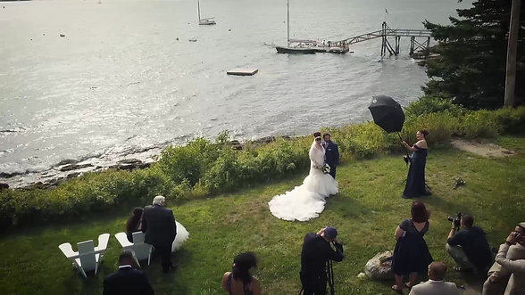 Roger's Drone Wedding reel