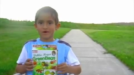 This Boy Loves Debbie's GreenBags®!