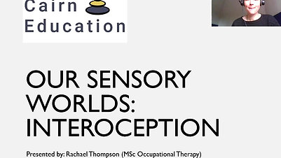 Our Sensory Worlds Interoception video