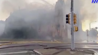 LIVE NOW: A church in downtown Rockford is on fire.