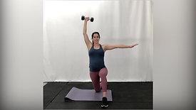 Prenatal Upper Body Dumbbell Workout