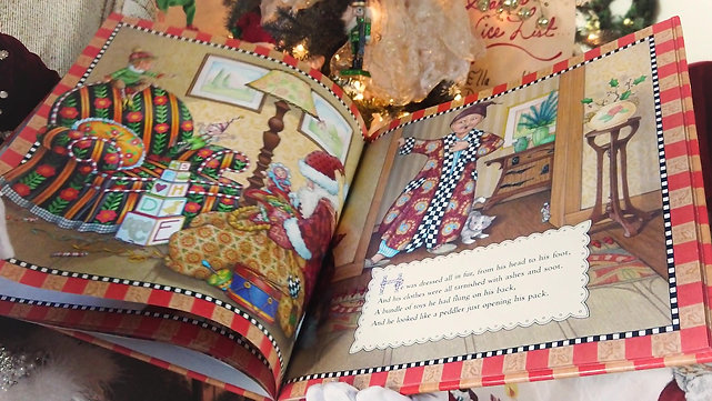 Mrs. Claus reads The Night Before Christmas