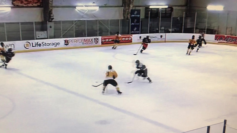 Alex Breakaway Goal at National Camp