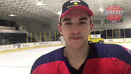 The New Jersey Rockets' Alex Farmer notched the GWG and David Bazile scored a