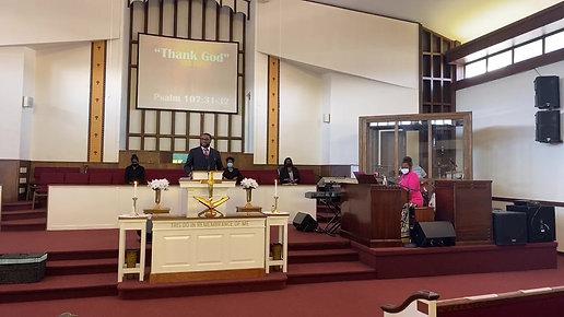 New Zion's 11 am service- 07/12/20