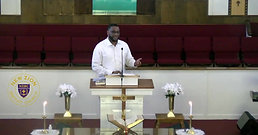 New Zion's 11AM Service- 09/27/20