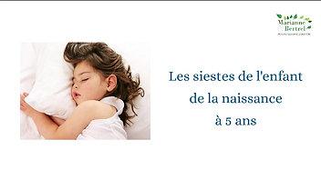 Les siestes - Marianne Bertrel