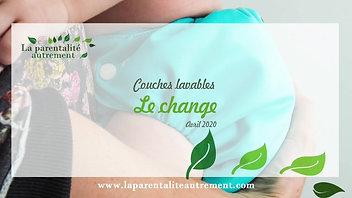 Change en couche lavable