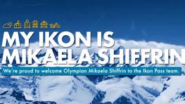 MIKAELA SHIFFRIN: THE NEW FACE OF THE IKON PASS