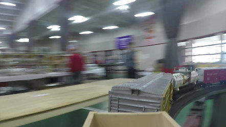 Model Train at the Greater Toledo Train and Toy Show