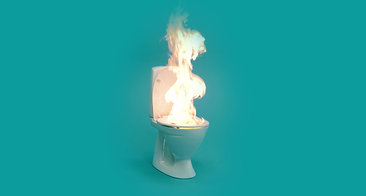 Burning Toilet // Christian Schandorph // Special Effect