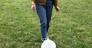 Soccer-Frisbee Disc Flip by Lizi
