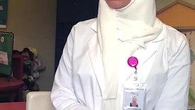 Psychologist Assistant Salwa Al-Khayat