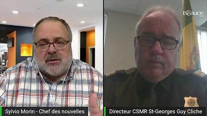 Entrevue Capitaine Guy Cliche SQ - Mai 2021