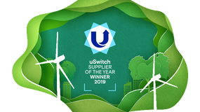 We've just won uSwitch Energy Supplier of the Year 2019!  Thanks to everyone ...