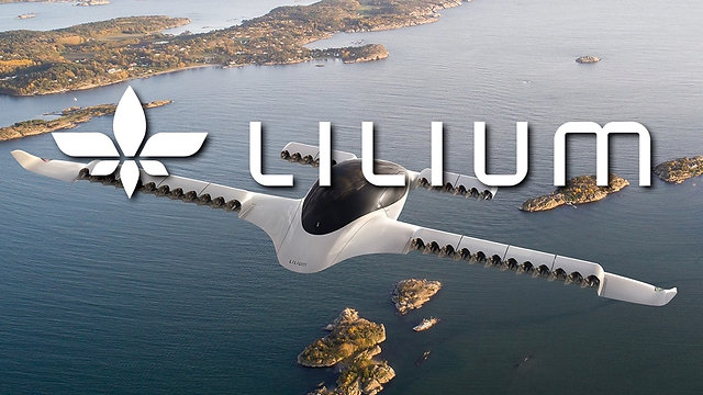 The Lilium Jet five seater all electric air taxi HB720