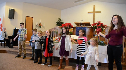 Junior Church Choir Part 3