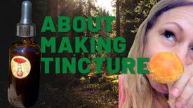 About Making Amanita Tincture