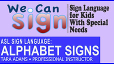 We Can Sign ASL Alphabet