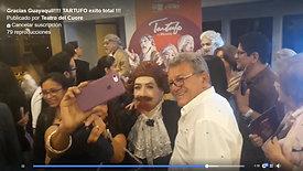 Gracias Guayaquil!!!! TARTUFO exito total !!!