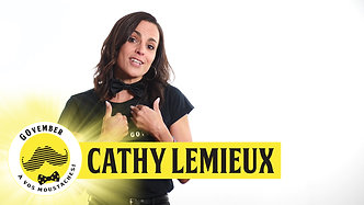 Govember 2019 - Cathy Lemieux