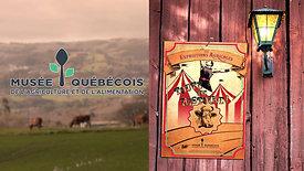Musée québécois de l'agriculture et de l'alimentation : Les expositions agricoles; Toute une histoire!