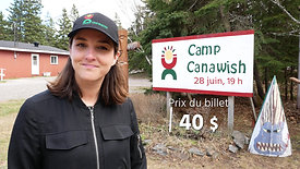 Spectacle au Camp Canawish