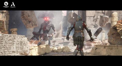 Previz - Ancient Evil - Unreal Engine 5