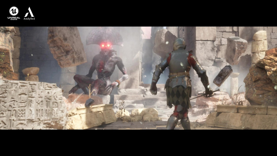 Previs - Ancient Evil - Unreal Engine 5