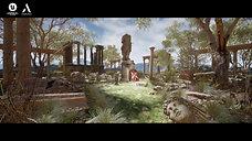 Previs - Roman Ruin - Unreal Engine